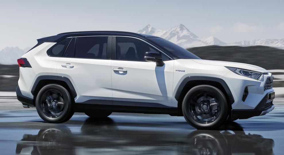 La nuova Toyota Rav 4Hybrid