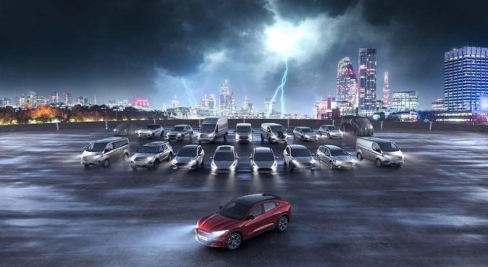 La gamma elettrificata di Ford