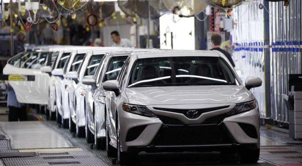 Una fabbrica Toyota in Cina