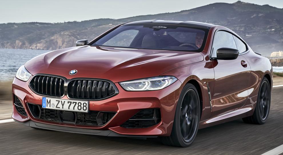 La nuova BMW Serie 8 coupè