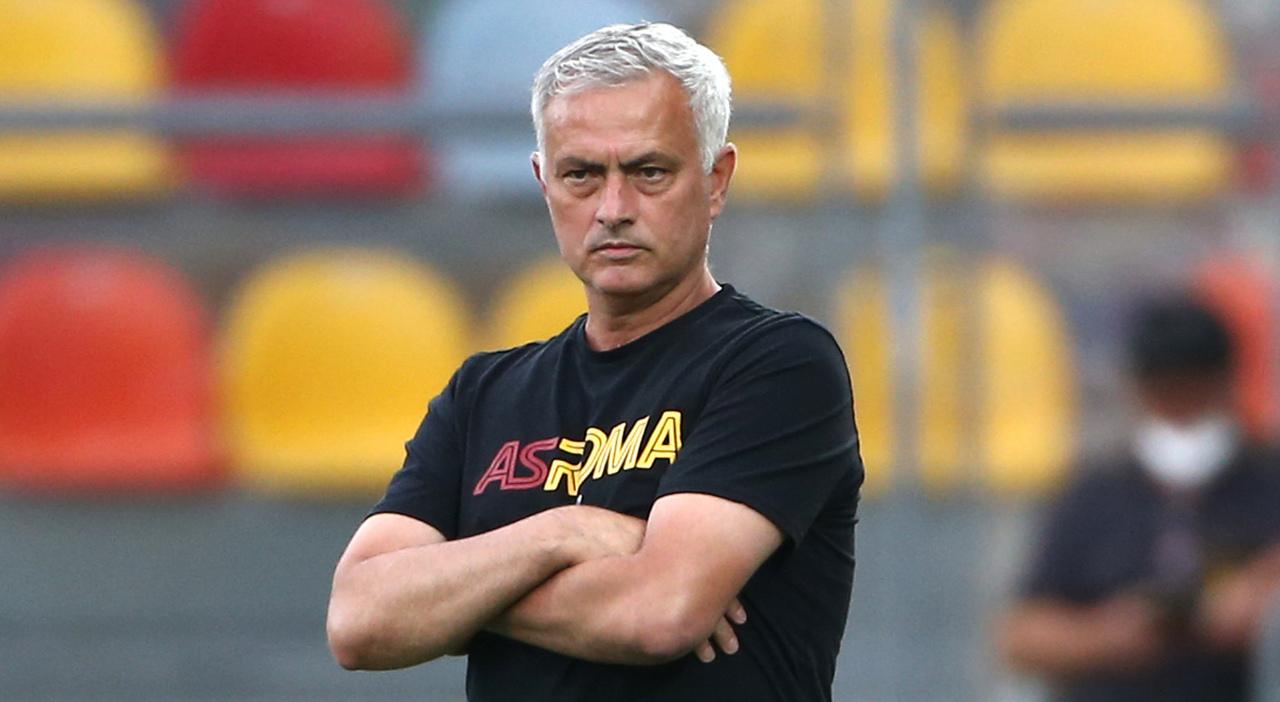 Mourinho (foto Gino Mancini)