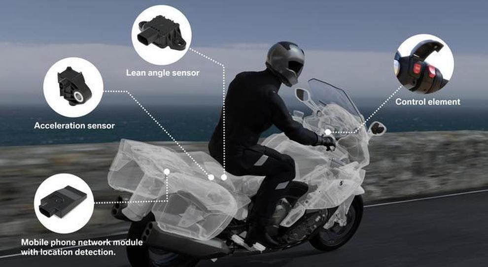 Una grafica di Bmw Motorrad