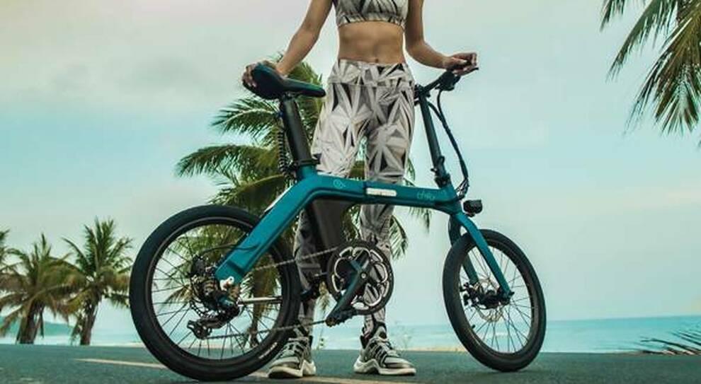 Una bicicletta elettrica che può usufruire del bonus mobilità