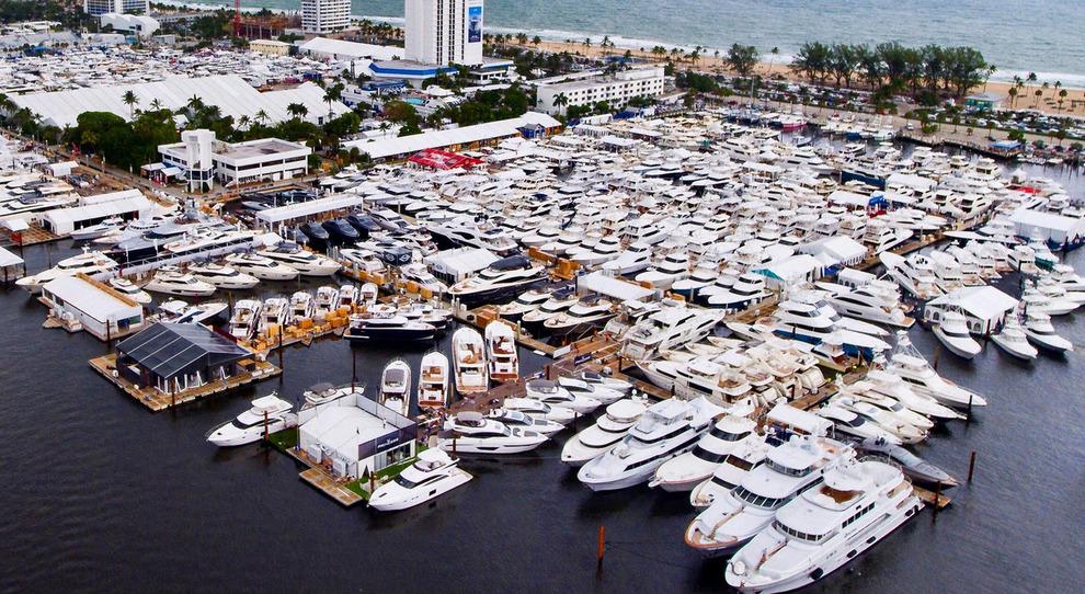 Una panoramica del boat show di Fort Lauderdale