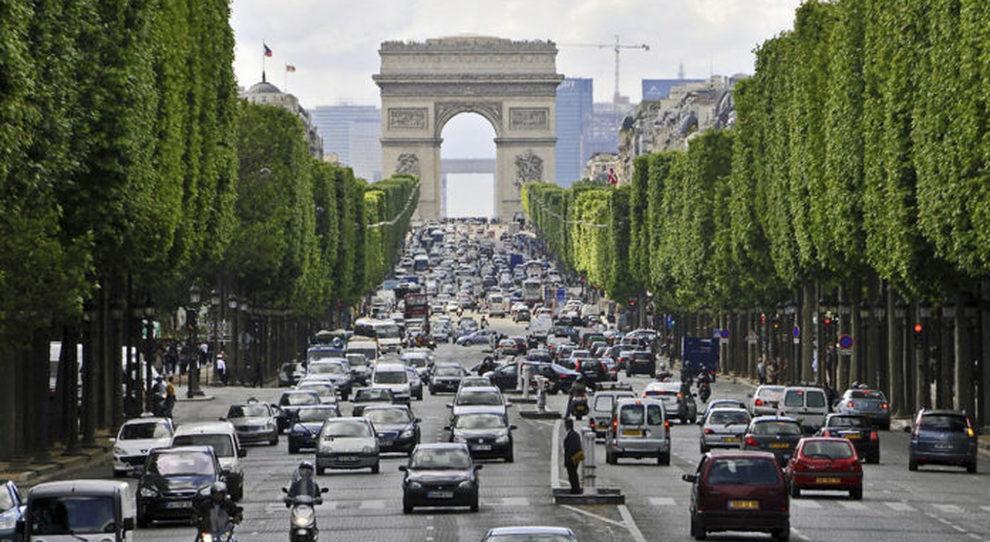 I Campi Elisi a Parigi