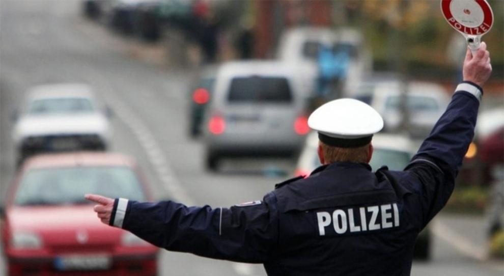 Un poliziotto tedesco