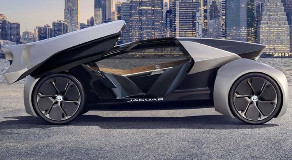 La Jaguar Future-Type, la visione della mobilità del marchio del Giaguaro nel 2040
