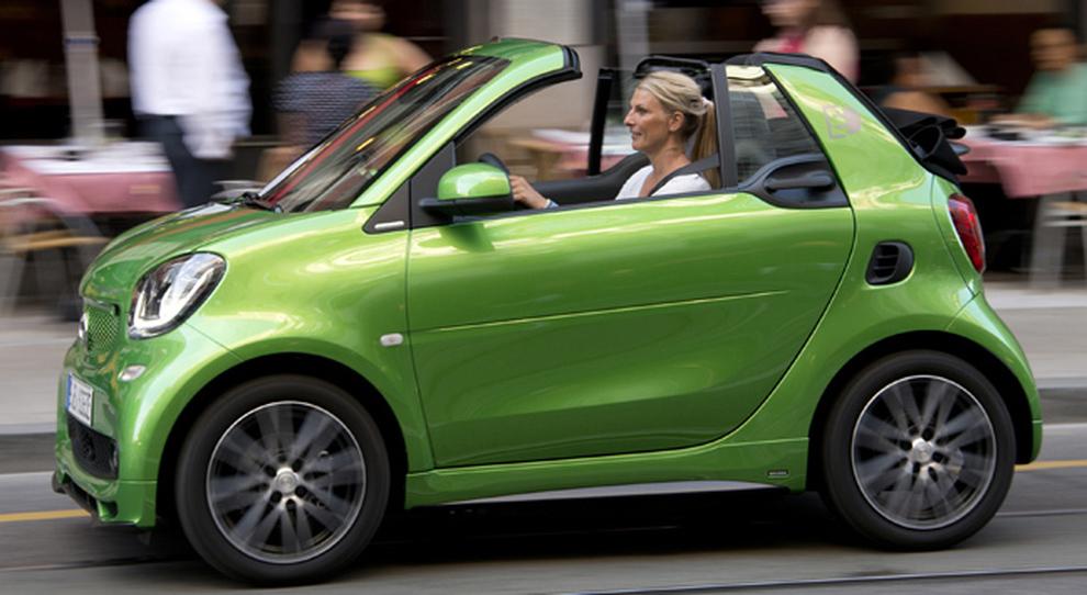 La Smart Cabrio Electric Drive