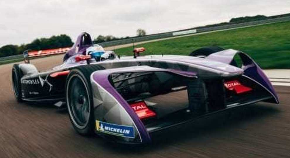 La DSV-03 nuova monoposto elettrica di DS Virgin Racing