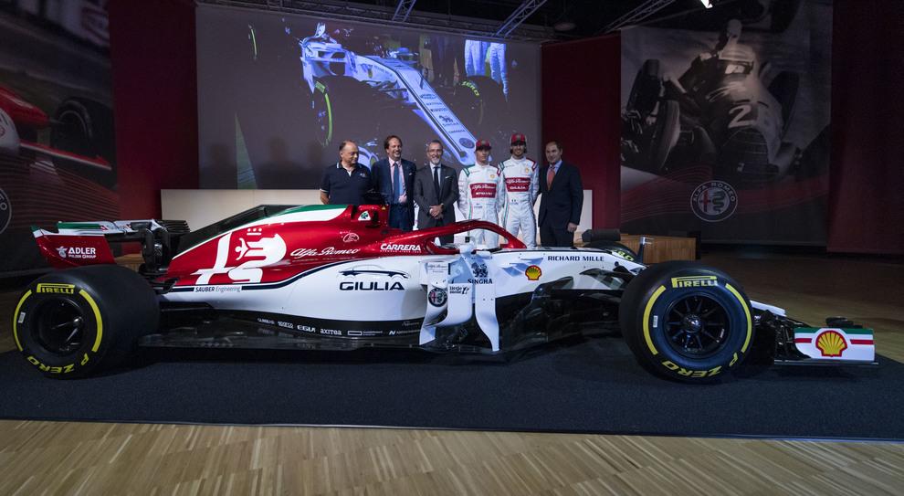 La C38 del team Alfa Romeo Racing