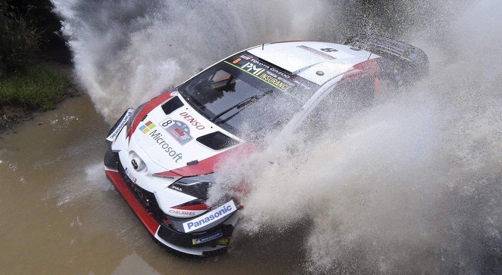 La Toyota Yaris WRC in Australia