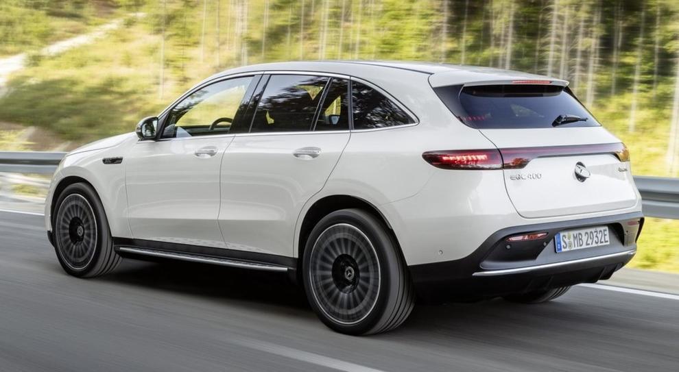 La Mercedes EQC