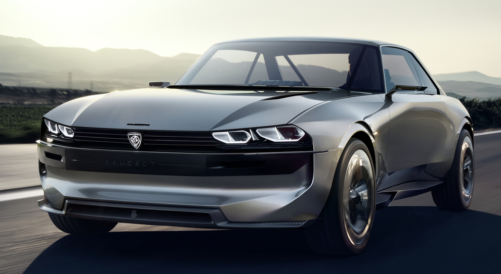La Peugeot e-Legend concept