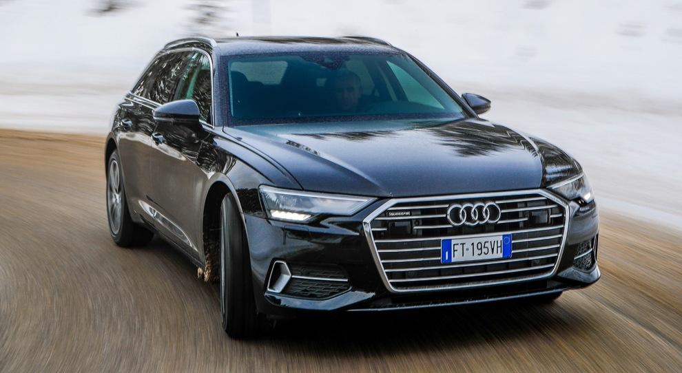 L'Audi A6 Avant ultra