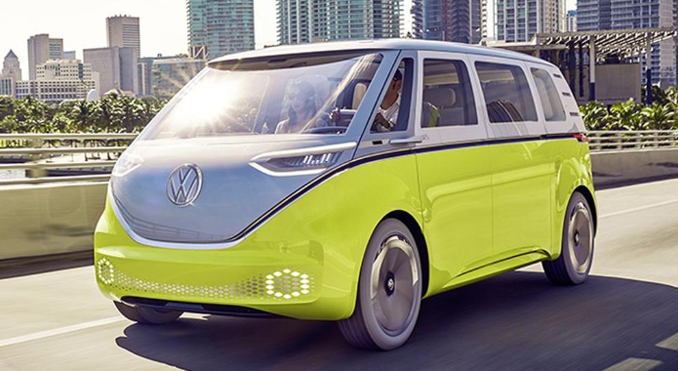 Un prototipo di quello che sarà in nuovo Volkswagen Bulli