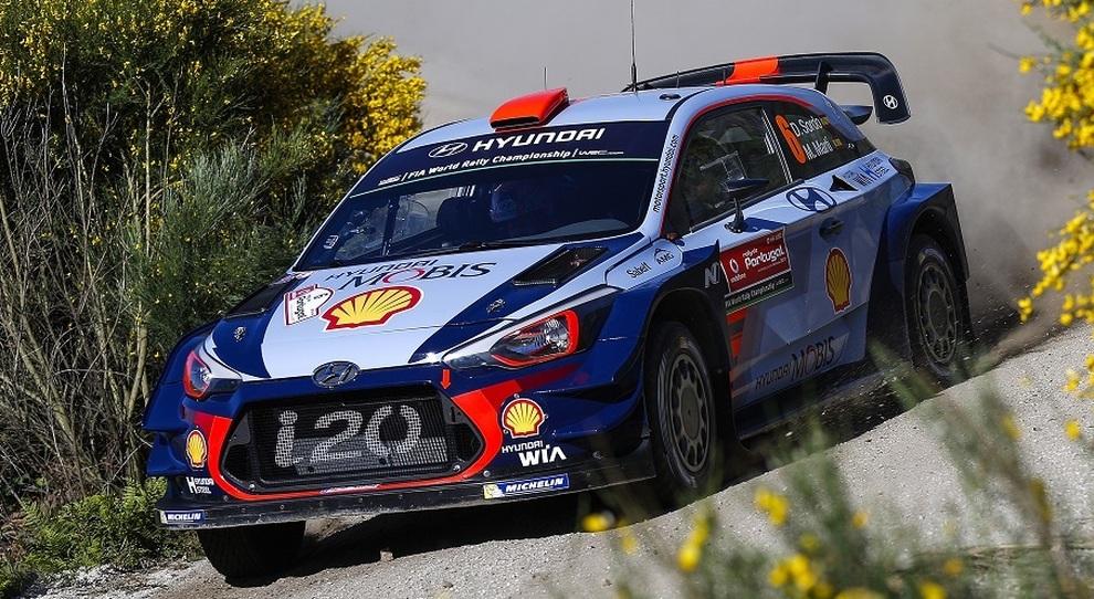 La Hyundai i20 WRC di Dani Sordo
