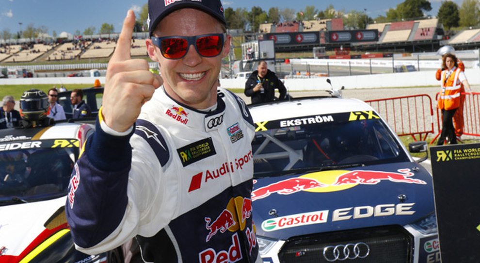 Mattias Ekström su Audi S1 ha vinto in Catalogna la prova inaugurale della stagione 2017 con la sua
