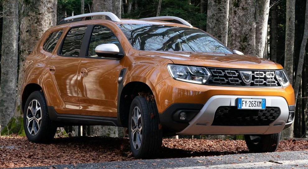 La Dacia Duster con il nuovo motore mille tre cilindri
