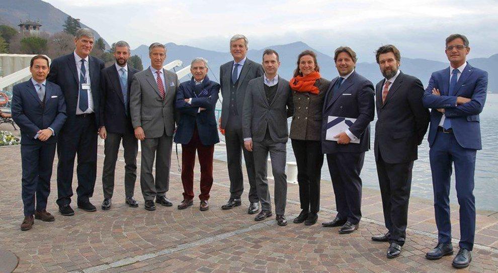 Il board di Nautica Italiana in occasione dell'assemblea dei soci svoltasi il 15 dicembre a Sarnico