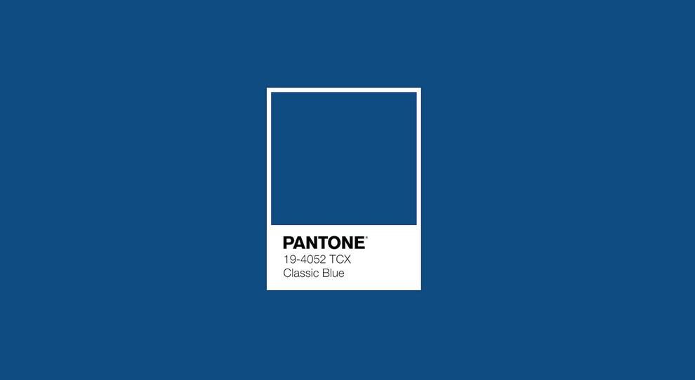 Classic Blue: il colore  Pantone del 2020 - Pantone 19-4052