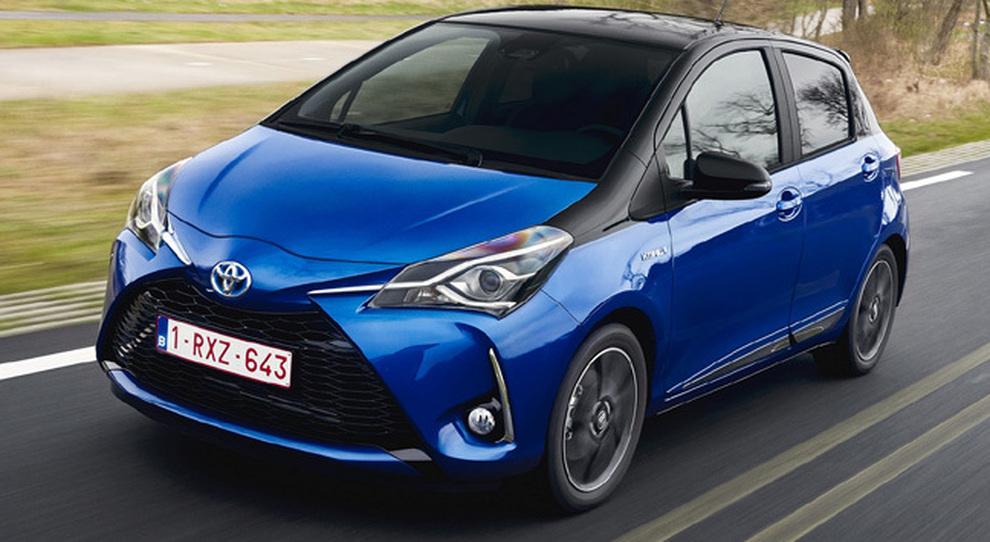 La nuova Toyota Yaris hybrid