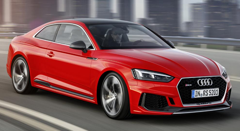 La nuova Audi RS5