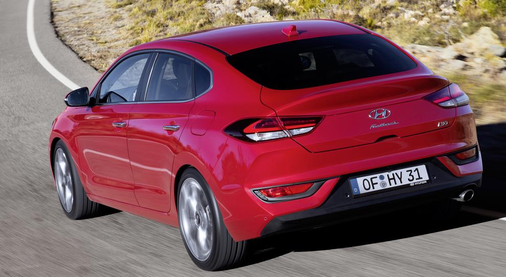 La Hyundai i30 Fastback