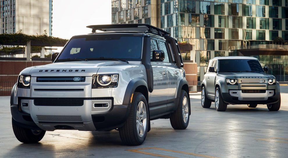 Il nuovo Land Rover Defender