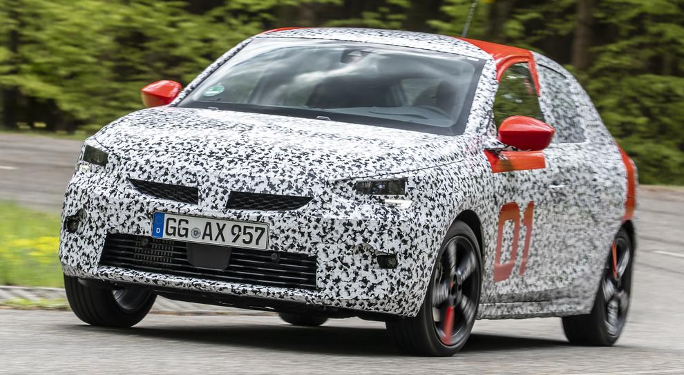 Il prototipo della Opel Corsa