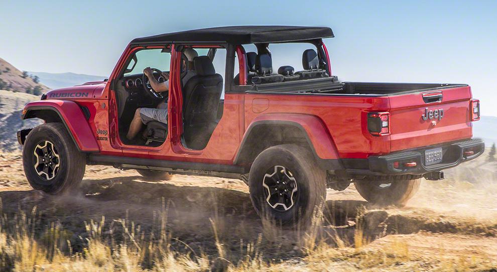 Il nuovo Jeep Gladiator
