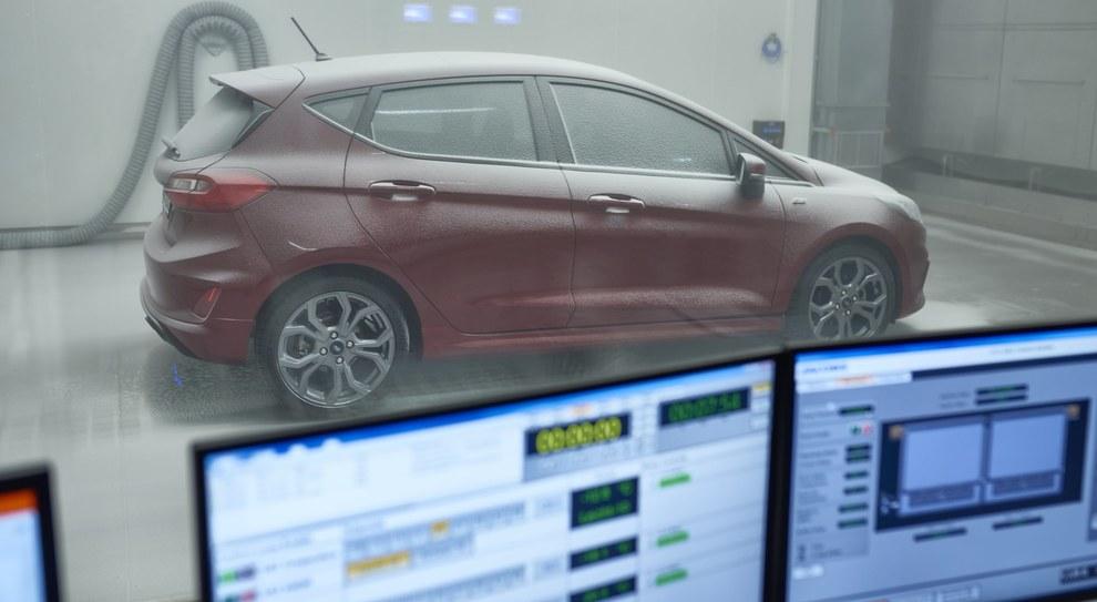 Un test estremo nella Weather Factory di Ford