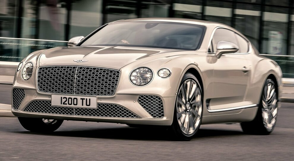 La Bentley Continental GT Mulliner Coupé