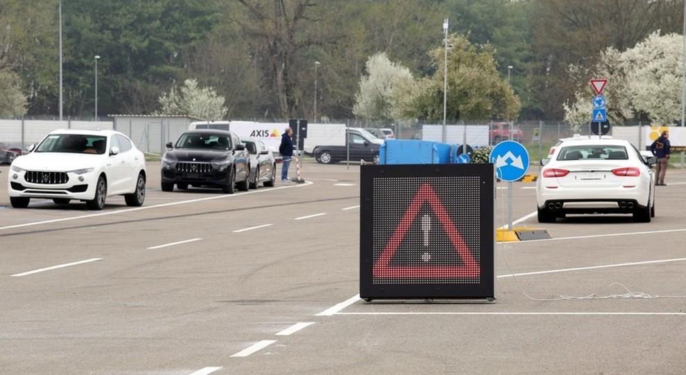 Un test sulla pista di Modena