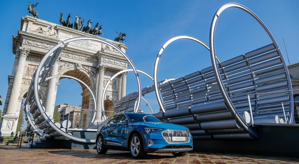 La nuova location dell'Audi City Lab a Milano durante la Design Week