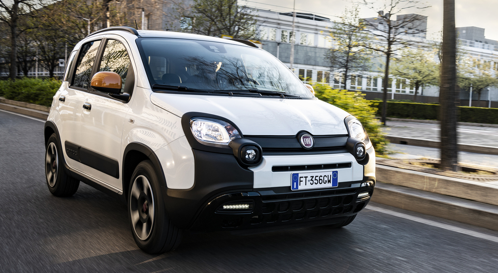 La Fiat Panda Connect by Wind