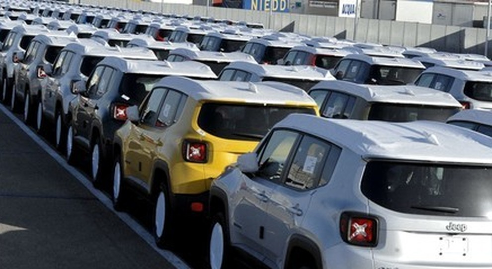 Jeep in attesa di distribuzione ai dealer