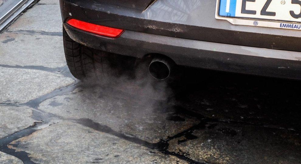 Un'auto diesel
