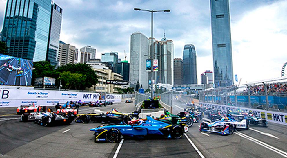 Un'immagine dell'e prix di Hong Kong dello scorso anno