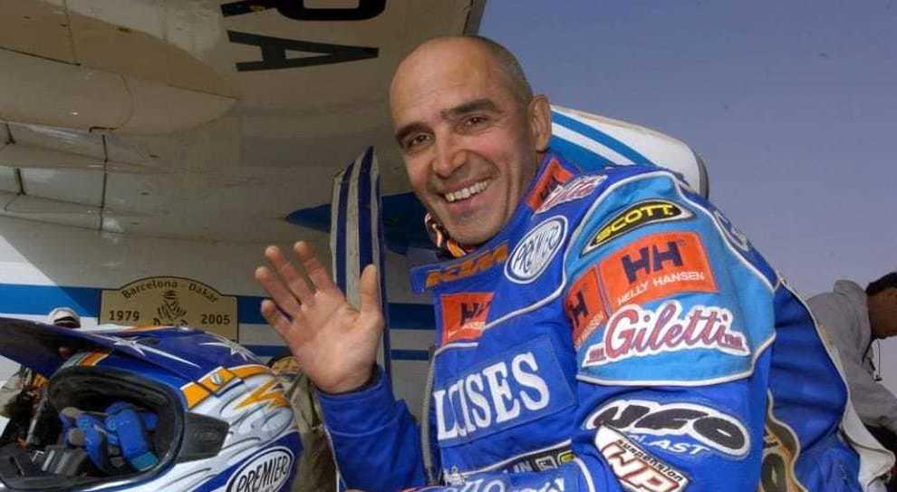Fabrizio Meoni, trionfatore delle edizioni 2001 e 2002 muore alla Dakar 2005