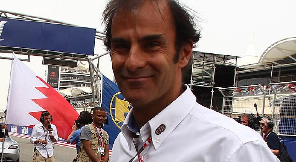 Il commissario Fia ed ex pilota di Formula 1 e Le Mans Emanuele Pirro