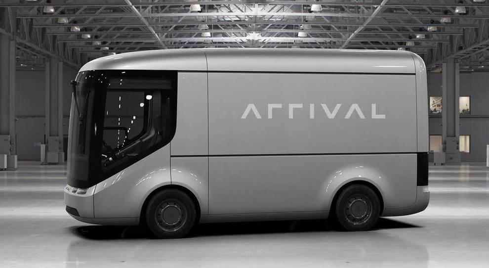 Un veicolo commerciale elettrico di Arrival