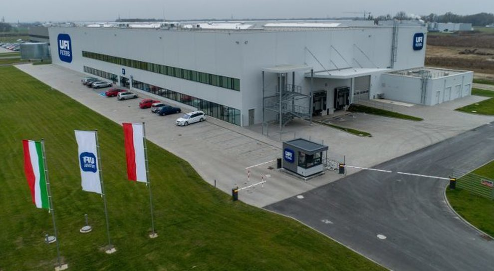 Lo stabilimento UFi Filter altamente tecnologico di Opole (Polonia)
