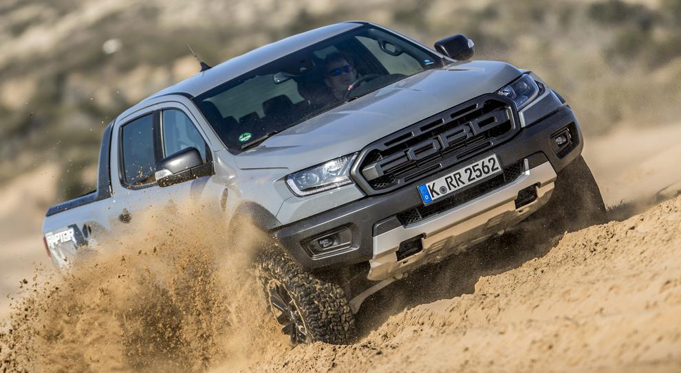 Il Ford Ranger Raptor nel deserto del Sahara