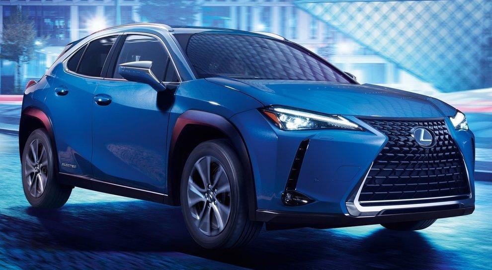 La Lexus 300e, prima full electric del gruppo Toyota