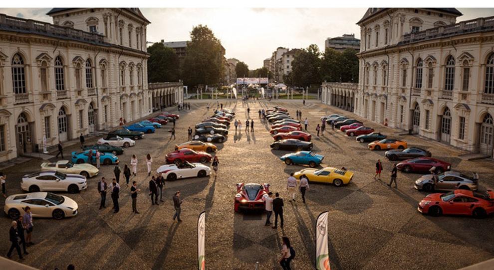 Un'immagine della presentazione del salone dell'auto di Torino 2017