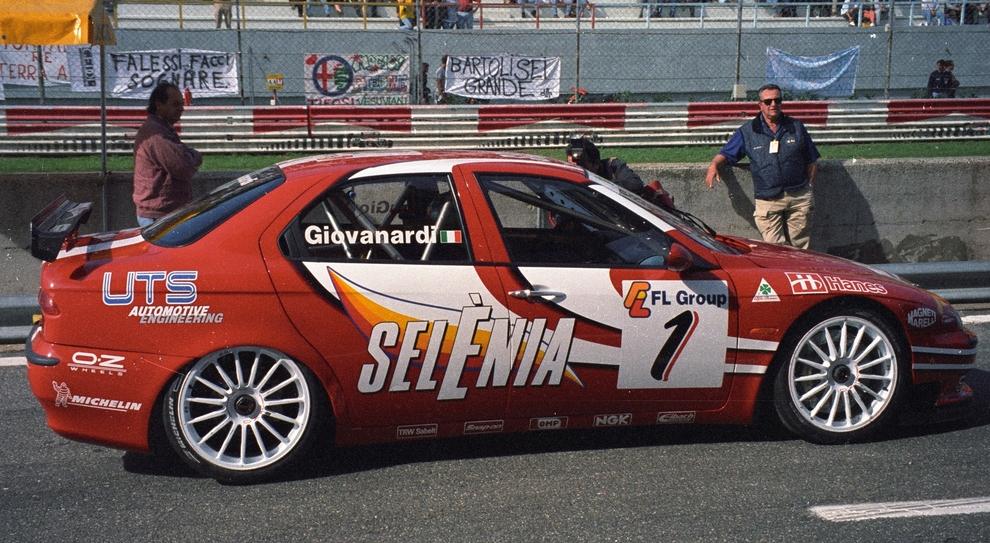 L'Alfa Romeo 155 Ts di Fabrizio Giovanardi