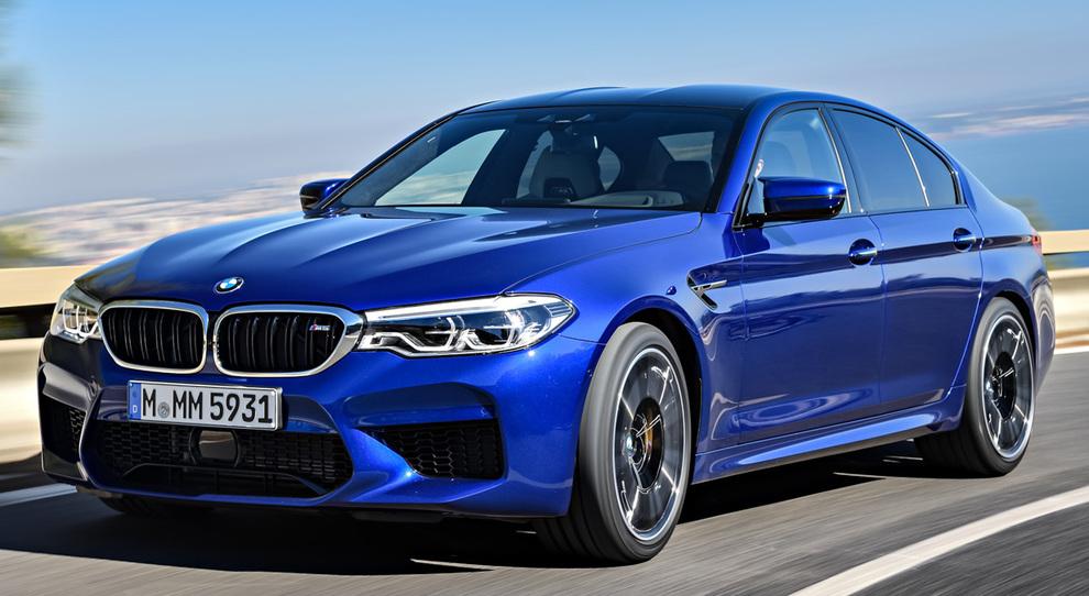 La sesta generazione della BMW M5