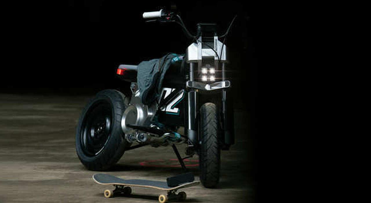 il BMW Motorrad Concept CE 02 è ideale per l'impiego urbano