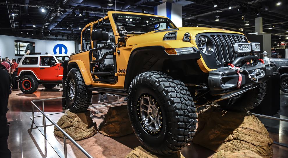 La Jeep Wrangler Sand Trooper protagonista al Sema 2018