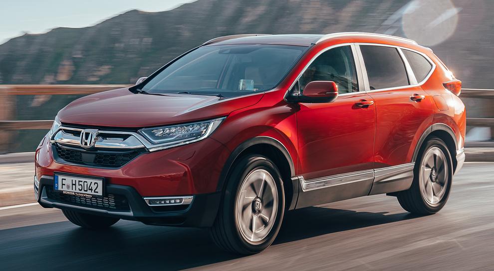 La nuova Honda CR-V